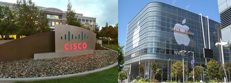 همکاری اپل با سیسکو باهدف افزایش سازگاری