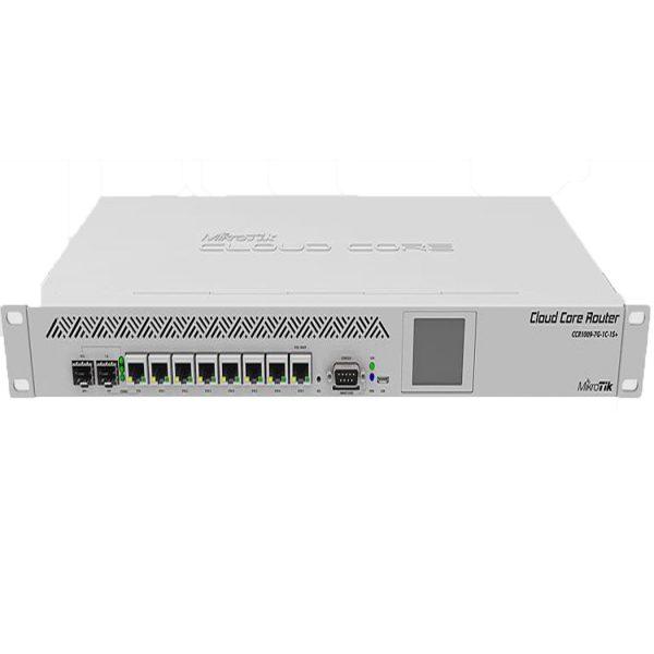 روتر شبکه میکروتیک+MikroTik CCR1009-7G-1C-1S