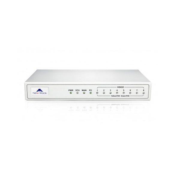 VoIP Gateway New Rock MX8G-8s